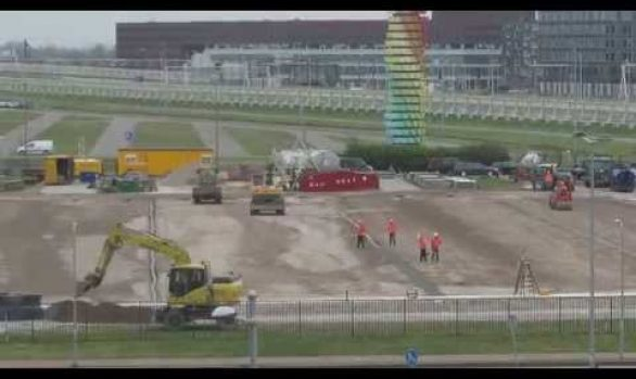 De bouw van het GreenFields stadion