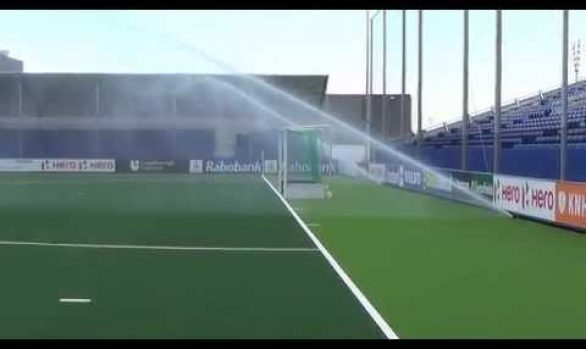 WK Hockey 2014 - Beregening Greenfields Stadion