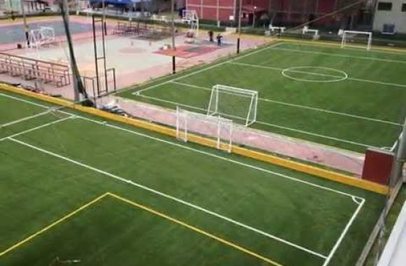 Menbel Sports International. Centro Naval del Peru. Campos de Fútbol 9 y 7