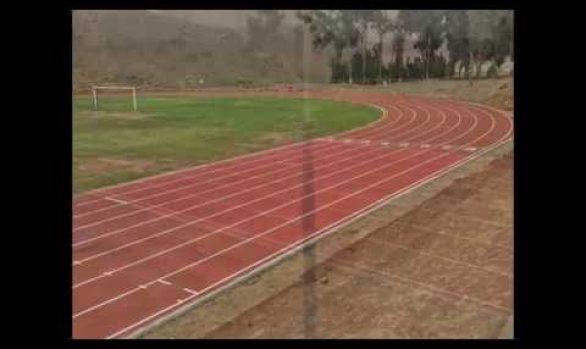 Menbel Sports International. Pista atlética Escuela de Sub Oficiales de la PNP.