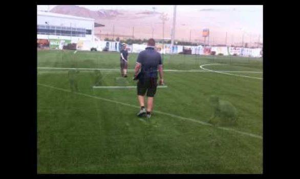 Menbel Sports International . Club Regatas Lima.Campos de Fútbol certificados FIFA 2 Star.