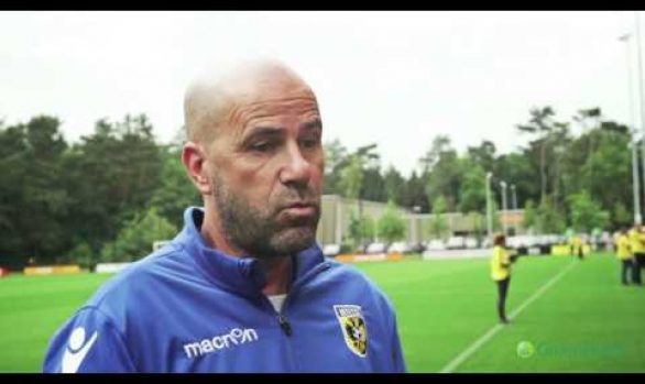 Head coach Vitesse, Peter Bosz about GreenFields MX
